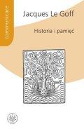 Historia i pamięć - okładka